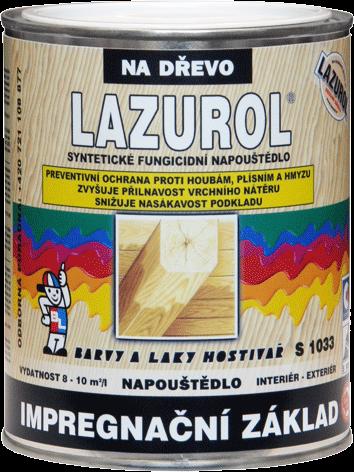 LAZUROL IMPREGNAČNÍ ZÁKLAD S1033