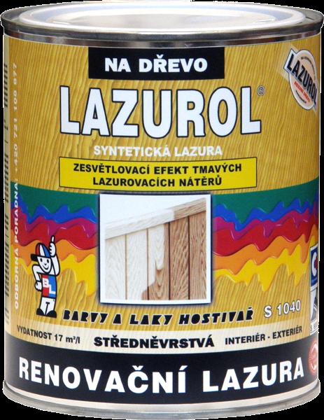 LAZUROL RENOVAČNÍ LAZURA S1040