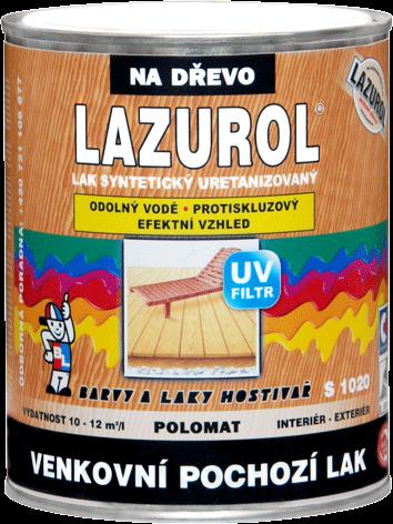 LAZUROL LAK VENKOVNÍ POCHOZÍ S1020