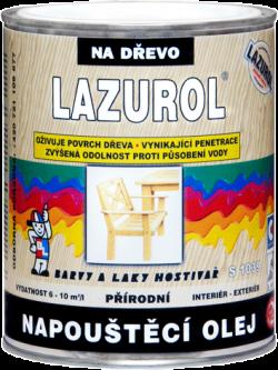 LAZUROL NAPOUŠTĚCÍ OLEJ S1039