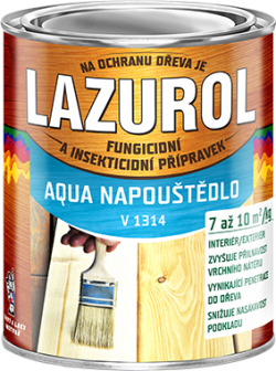 LAZUROL AQUA NAPOUŠTĚDLO V1314